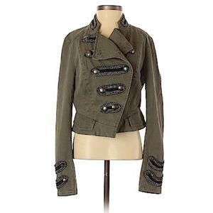 Free People Military Jacket